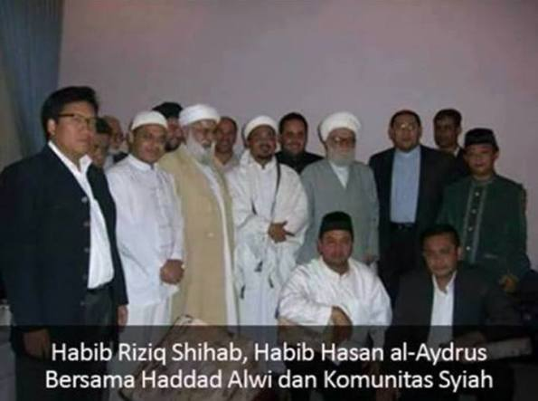 Habib Rizik,hadad alwi dan dai syiah