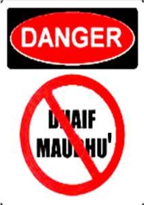 bahaya hadits dhaif dan palsu