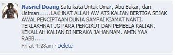 Mau Tahu Cacian Mulut-Mulut Kotor Pengikut Syiah Di Indonesia? Silahkan Lihatlah,.. Beginikah Akhlak Para Pecinta Ahlulbait?
