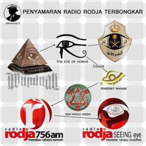 illuminati radio rodja ,kelucuan web pembenci sunnah rasulullah