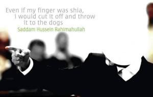 sejarah sebenarnya tentang saddam husein