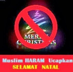 muslim haram mengucapkan selamat natal