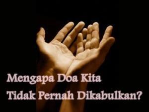 waktu dikabulkannya doa