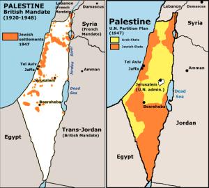 Pembagian-wilayah-Palestina