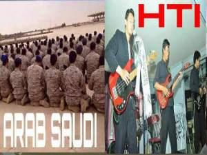 Beda HTI dan tentara saudi