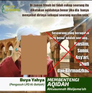 Tidak cukup muslim saja